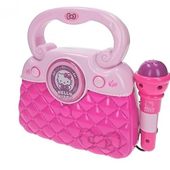 Trendy taška s mikrofonem a melodií REIG Hello Kitty