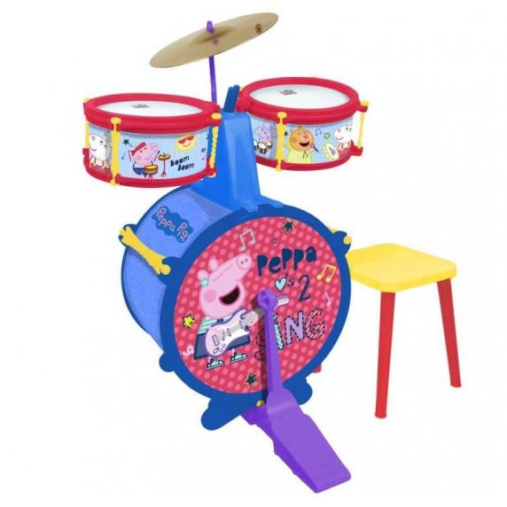 Bubnový set se sedlem REIG Peppa Pig 2323