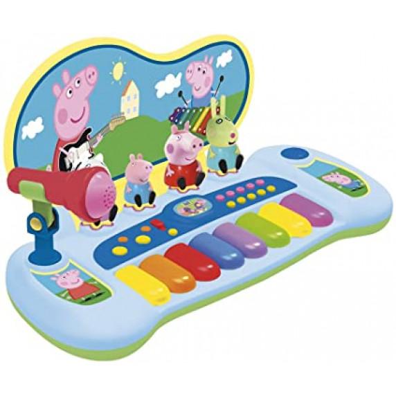 Syntetizátor s figurami a mikrofonem REIG Peppa Pig 2328