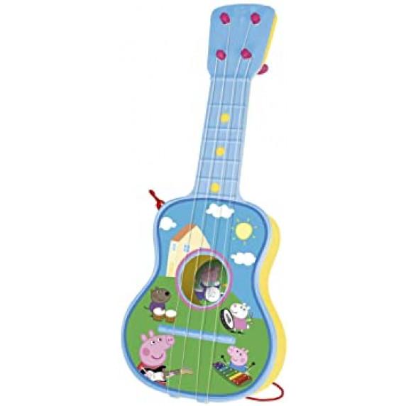 REIGOVÁ Dětská akustická kytara Peppa Pig 2339