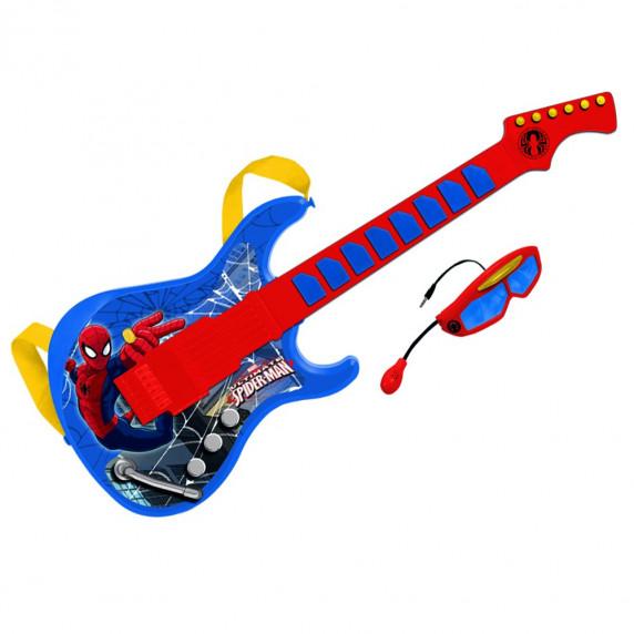Elektronická kytara s brýlemi a mikrofonem REIG Spiderman