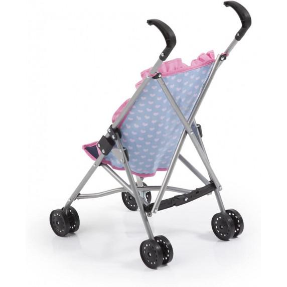 REIGOVÁ golfový kočárek pro panenky - Modro-růžový
