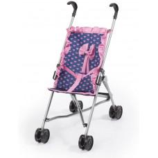 REIGOVÁ golfový kočárek pro panenky - Modro-růžový Preview