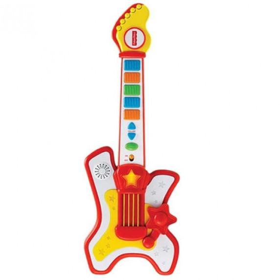Rocková elektrická kytara se zvukem FISHER PRICE 380030
