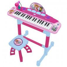 Syntetizátor s mikrofonem a sedlem REIG Tlapková Patrola Růžový  Preview