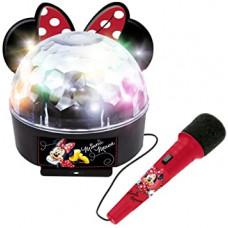 Disko koule s mikrofonem a světlem REIG Minnie Mouse Preview