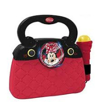 Trendy taška s mikrofonem a melodií REIG 5262 Minnie Mouse
