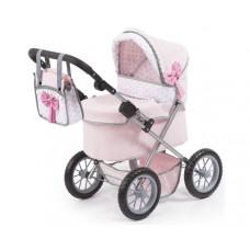 REIGOVÁ trendy luxus dětský kočárek 67x41x68cm - Růžový Preview