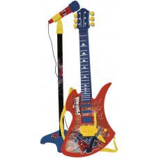 REIG Spiderman mikrofon na stojanu s 6 strunovou kytarou Preview