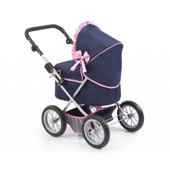 REIGOVÁ trendy luxus dětský kočárek 67x41x68cm - Modro-růžový
