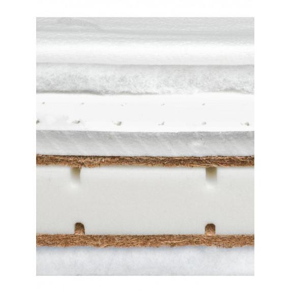 Matrace Sensillo latex-molitan-kokos 120x60cm-Aloe Vera