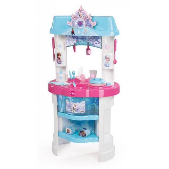 Dětská kuchyňka Smoby Frozen - Ledové království s 22 doplňky modrá