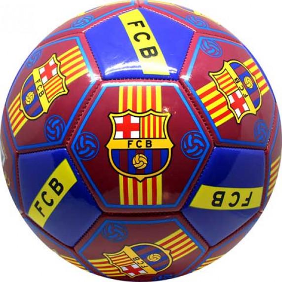 Fotbalový míč SPARTAN FC Barcelona All Logos