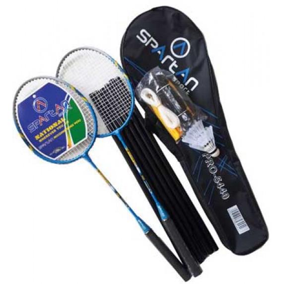 Badmintonový set DE LUXE SPARTAN