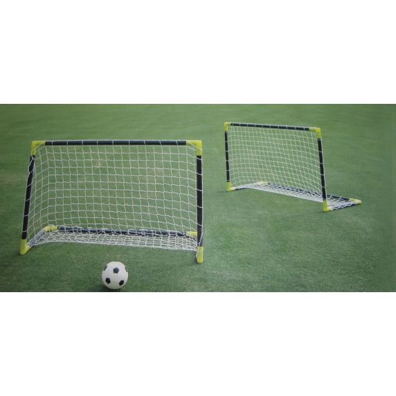 SPARTAN set fotbalových branek 76,5 x 66,5 x 52,5 cm s loptou