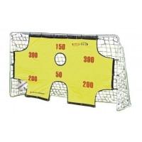 SPARTAN Fotbalová branka s tréninkovou síťkou 290 x 165 x 90 cm