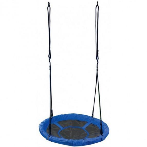 Záhradní houpačka SPARTAN Fun Ring 95 cm - modrá