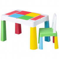 Tega Multifun dětská sada stoleček a židle - multicolor