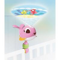 Tiny Love cestování projektor velryba Suzi růžová