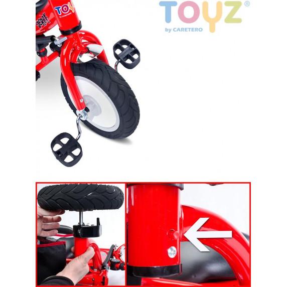 Dětská tříkolka Toyz Derby - růžová