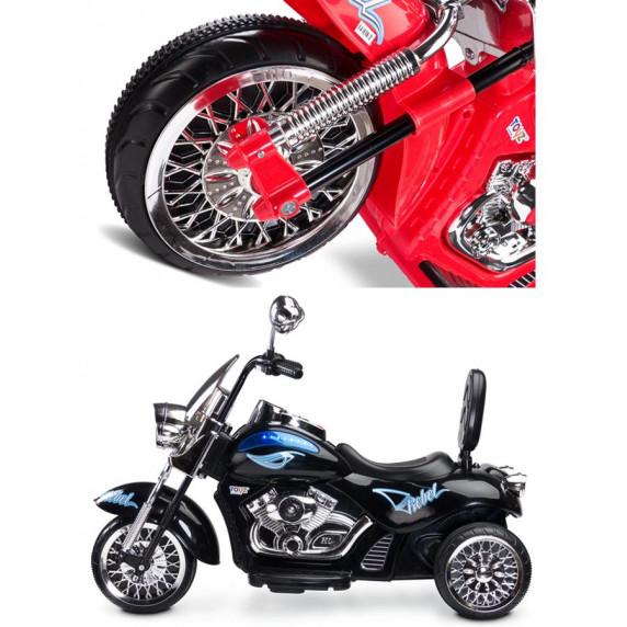 Elektrická motorka Toyz Rebel - černá