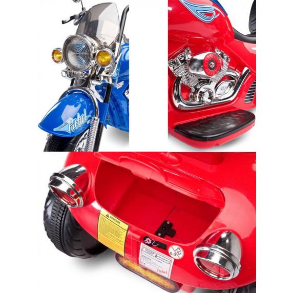 Elektrická motorka Toyz Rebel - modrá
