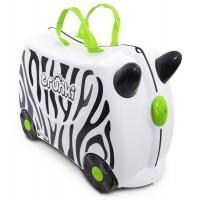 TRUNKI Cestovný kufrík - Zebra
