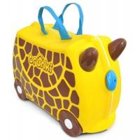 TRUNKI Cestovný kufrík - Žirafa
